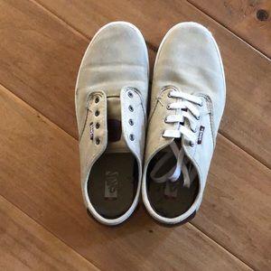 Vans Canvas tan sneakers